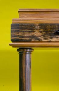 Desk ebony & walnut detail 3 copy