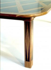 Kane table leg detail